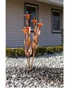 Orange Trumpet Flower Fountain